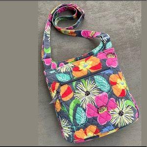 Vera Bradley Floral Quilted Crossbody/Shoulder Bag